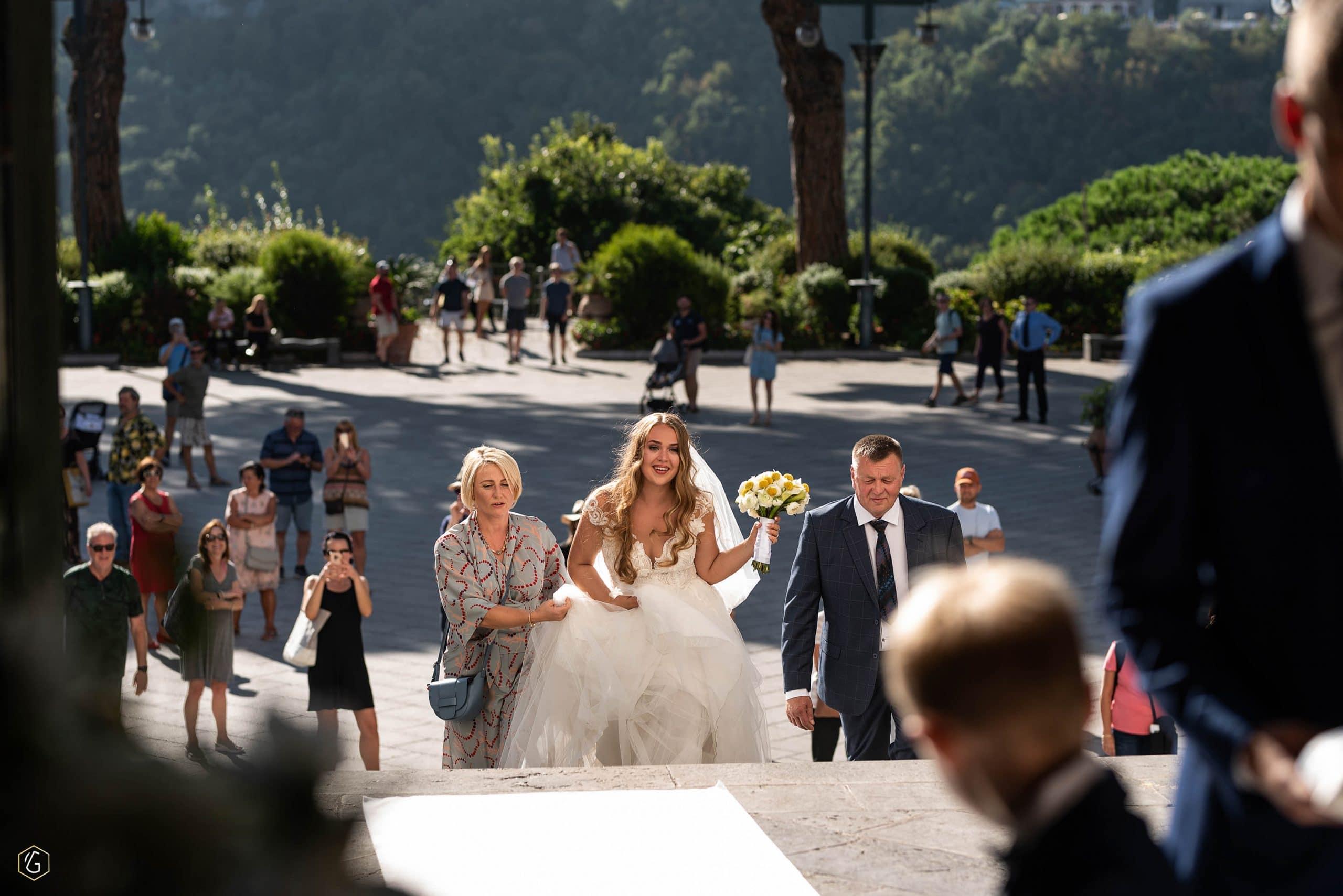 Vilma Wedding & Event Planner _ Vilma Rapšaitė _ santuokos organizatorė _ vestuvės Amalfyje _ turistai _ jaunoji _ vestuvės Italijoje